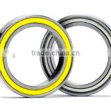 Metal sealed Minature deep groove ball bearing 6807zz used in motor, office equipments, transport field