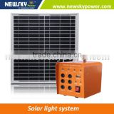 new design 10W Mini samll portable Solar Energy System solar power lighting system Solar Lighting System