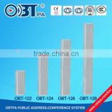 OBT-126 Small narrow sound speaker/loudspeaker for outdoor special place led screen display,LCD screen