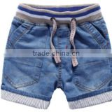 strip ribbing waistband cotton boys jean shorts Baby Denim children kids jean shorts boys denim shorts                                                                         Quality Choice