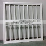 Decorative security iron simple window grills
