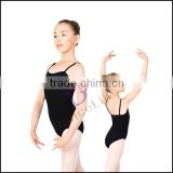 C2037 Wholesale ballet leotards girls cotton lycra kids gymnastic leotards for girls spandex gymnastics leotard