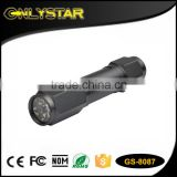 Onlystar GS-8087 auto aluminum 8 led emergency with knife and hammer tool car emergency torch