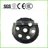 5inch diamond grinding cup wheel with twelve PCD small segment for concrete coating removal