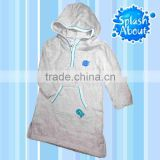 Eco Friendly manufacturer comfortable Splash About Bamboo Cotton baby made in taiwan Apres Splash Robe