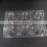 Clamshell PVC egg packaging tray
