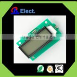 0802/1602 lcd module STN NEGATIVE(BLUE),TRANSMISSIVE/POSITIVE Y-G/GRAY,TRANSFLECTIVE transparent dot matrix lcd display