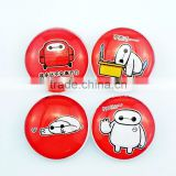 New design cheap custom vienna fridge magnet/big hero 6 baymax robot mascot costume