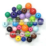 Loose 14~20mm Round Bubble Gum Acrylic Beads, DIY Material for Children's Day Gifts Making(M-PAB70-2)