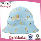children's hat Wholesale Cotton Plain Custom Bucket Hat with String Bucket Hat Bulk Baby hat