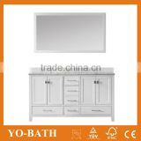 2015 factory double sink used bathroom vanity cabinet with marble countertop                                                                                         Most Popular