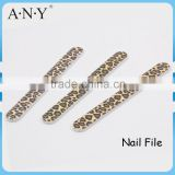 Nail Art Manicure Polishing Tools Leopard Printing Personalized Nail Files