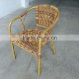 outdoor furniture bamboo wicker chair for wedding on sale
