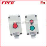 China explosion proof control button IIC aluminum alloy safey increased box