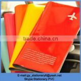 Hot Sale Plastic Pvc Travel Airline Ticket Holder,Pvc Travel Ticket Wallet Cover                                                                         Quality Choice