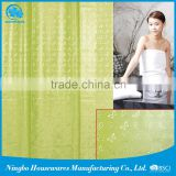 3D EVA Wave Shower curtain
