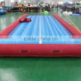 Factory Price Sports Games Tumble Track Inflatable Air mat for Gymnastics