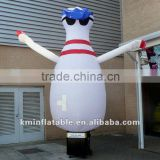 inflatable bowling pin air dancer inflatable