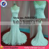 Nectarean for girl dress deep V bodice beaded lace mermaid lace plus size wedding dresses