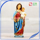 Resin Virgin Mary and Baby Jesus Statue Religious Statues