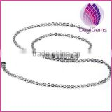 Wholesale 3mm wide stainless steel rolo chain