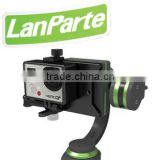 Lanparte camera gimbal stabilizer for go pro and cellphone