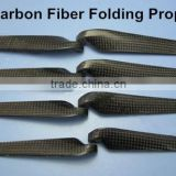 10'' ~ 13'' Carbon Fiber Folding Propeller Blades RC Airplan Parts Match The Carbon Fiber Spinners