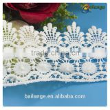 high quality chemical swiss voile embroidery guipure african lace fabrics trimming necklace designs