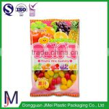 laminated transparent plastic packaging bag for banana chips