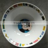 factory direct Lovely children soup bowl ,children tableware,alibaba kids porcelain food bowl and plates