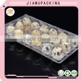 disposable plastic quail egg cartons with 18 holes, quality plastic quail egg packaging tray