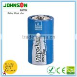 China Wholesale Flashlight Batteries alkaline battery 1.5 V LR20 Size D , OEM Yuyao hot sale battery