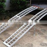 Double Aluminium Folding Loading Motorcycle Ramp