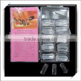 100pcs Dual Nail System Form For UV Acrylic Nail Art Tip