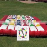 Hola giant twister game/inflatable twister game for sale
