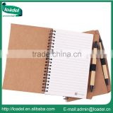 Customized professional eco-friendly stone paper notebook with pen