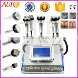 Skin Lifting Au-46B AURO Body And Face Re-shaping 40K Cavitation Ultrasonic Vacuum Liposuction Cavitation Radio Frequency Slimming Machine Ultrasonic Liposuction Machine