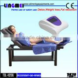 LINGMEI lymphatic drainage vacuum therapy cellulite machine with infrared heating therapy body sauna weight loss