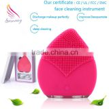 Best selling beauty equipment home health products facial cleansing brush silicone cleaning brush