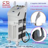 IPL laser skin treatment hair/freckle remove beauty equipment laser treatment cost