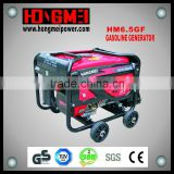 6.5Kw/Kva Factory Price Handle Start Portable Gasoline Generator Set with 100% Copper Wire
