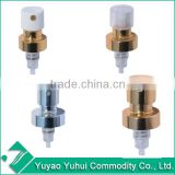 CS-1001 Yuyao Yuhui high grade good quality low price non spill parfum glass bottle 15mm 18mm 20mm crimp sprayer
