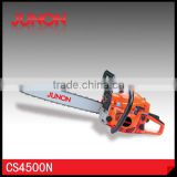"High Quality 45cc wood cutting Gas chain saw CS4500N CE Approved with 18"" 20"" Guide Bar"