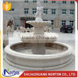Costomize stone marble water fountain for decoration NTMF-005LI