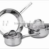 Good quality stainless steel cook ware set