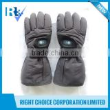 Battery Operated Heating Glove with Switch Outside