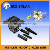 Ground standing solar anti mosquito lighting lantern