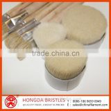 BLEACHED BOILED WHITE BRISTLE FOR ARTIST BRUSH FIBER / PAINT BRUSH BRISTLE/ COSMETIC BRUSH BRISTLE