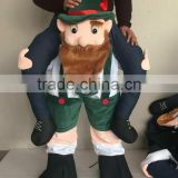 Carry Me Bavarian Funny Beer Guy Ride On German oktoberfest mascot costume