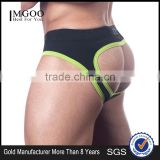 Hot Sale Cheap Price Elastic Band Underwear Cotton Spandex 180g Boxer Brief For Male Custom Made